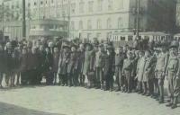 Červený kříž organizoval cestu dětí do Švýcarska, Brno 1946