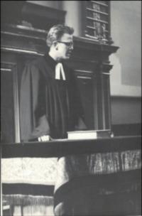 Farář Dus oddává svého bratra, Brno 1965