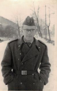 Jaromír Dus, vojenská služba, České Budějovice 1963