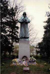Pomník Jana Amose Komenského, autor Vincenc Makovský, Naarden Holandsko