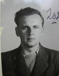 Antonín Axamit - fotografie z vyšetřovacího spisu