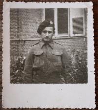 Petr Ehrmann v roce 1944