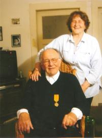 A. Kocáb s manželkou