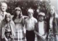 Rodina Bískových v Telecí