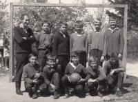 PE teacher at an elementary school; 1966