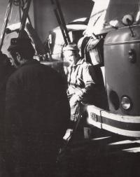 Driver's assistant at the National Enterprise Bytostav; 1973