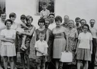 Jelenov 1966 - rodina a přátelé