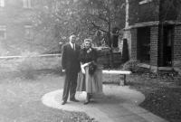 1953, Washington, D.C., svatba Tatiany Moravcové a Richarda A. Garda