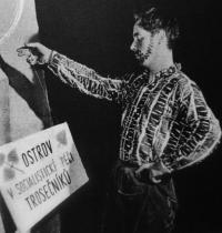 Divadélko pod okapem - rok 1962 - Petr Paprstein
