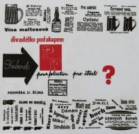 Divadélko pod okapem - plakát z roku 1963