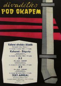Divadélko pod okapem - plakát z roku 1964