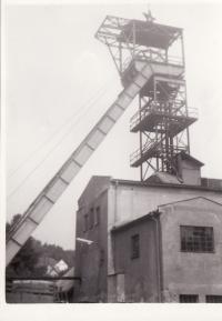 Jáchymov, důl Svornost-1968