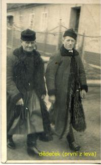 Stanislav´s grandfather - on the left