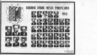 národní výbor města Prostějova 1945