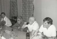 Setkání po 43 letech u Dittrichů 1982
