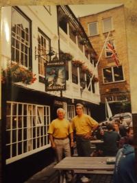 Londýn, rok 1992