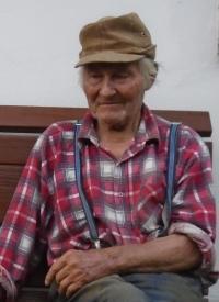 Jan Holík v roce 2016 - věk 92 let