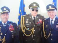 From left: colonel Pavol Vaněk, colonel Alexandr Beer