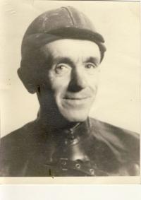 Ludvík Škultéty st. v hornickém oděvu