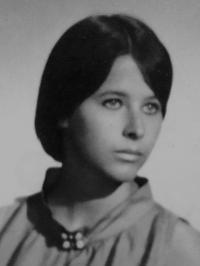 Kateřina Dejmalová portrét z mládí