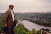 manžel Ivan Dejmal v 90. letech