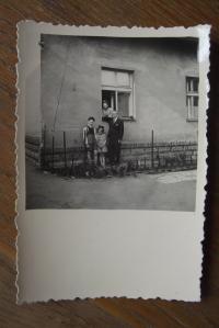 Rodina Wernerových na konci 30. let