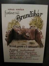 Poster for the play Brundibar
