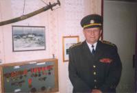 Podplukovník v. v. Josef Zelený na soudobé fotografii