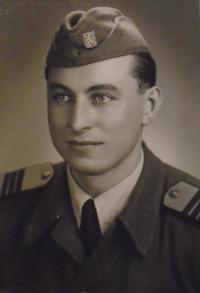 01-na vojně - Havlíčkův Brod r. 1954