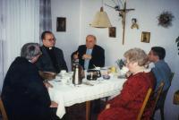 M. Fiala v Curychu v roce 2005 - tichý mluvčí biskupské konference
