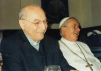 S opatem Kramárem v Želivi, 2011