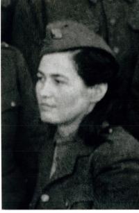 Maminka Růžena Biněvská