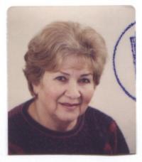 Věra Holuběva v roce 2008