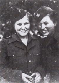 Vera Biněvská a Vanda Binevská