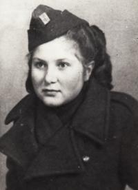 Krosno 1944, Věra Biněvská