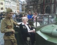 2014 Staroměstské náměstí Praha, květnové výročí konce války