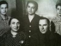 the whole family before the transport