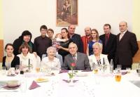 Brigitina oslava 85. narozenin s celou rodinou, 2014
