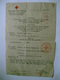 Dopis rodičů z října 1942