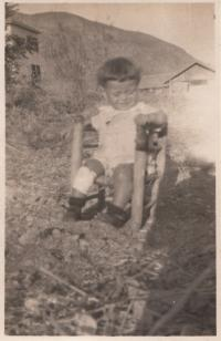 cca 1929-1930, Asaf v kibucu v Izraeli