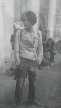 Asaf Auerbach v mládí