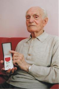 Jan Koukol with Ordre national de la Légion d'honneur, 2006