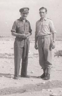 Jan Koukol on the left