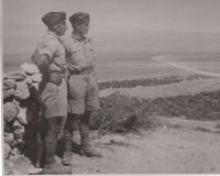 AT kurs, Baalbek, 1941, from the left: Miroslav Kupka, Jan Koukol