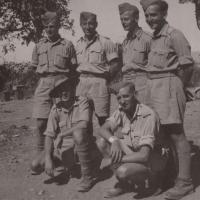 Standing from the left: Jan Koukol, Kupka, Slíva, Fuks