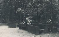 Lesní škola, p. učitel Schvarc