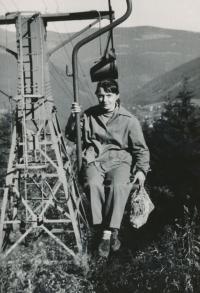 Věra, Špindlerův Mlýn, 1960