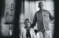 Věra a Pavel, výstava Příběhy našich sousedů, Post Bellum, 2014.