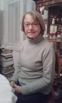 Věra Nováková v roce 2016