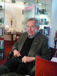 Václav Havel in March 2010